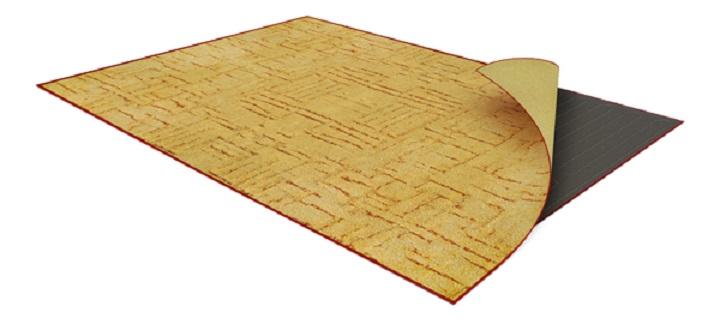 Теплый пол под ковер создан на основе пленочных систем обогрева