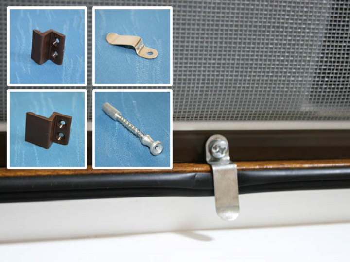 Правильный крепеж москитной сетки увеличивает ресурс изделия