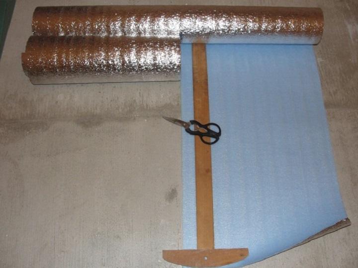 Подложка под пленочный обогреватель увеличивает эффективность обогрева