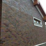 Фото 32: Пример отделки дома клинкерной плиткой feldhaus