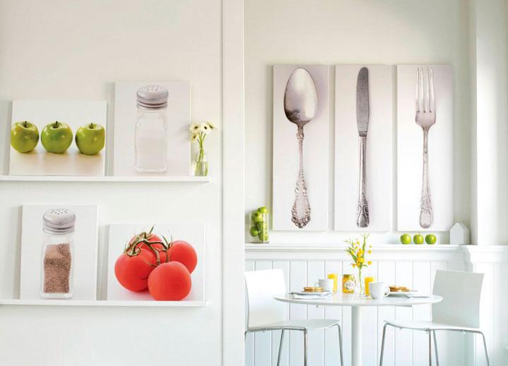 Оформление кухни своими руками