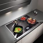 Фото 31: Кухня заснятая на студии, красиво, посуда, электроплита