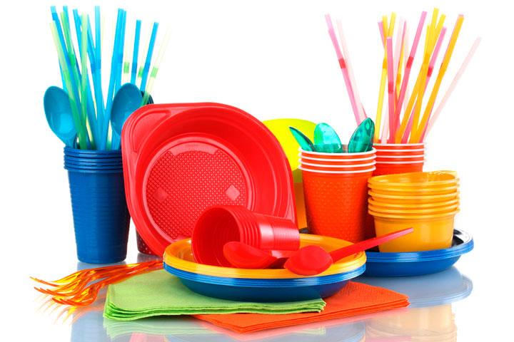 Поделки из одноразовой посуды