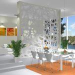 Фото 32: Дизайнерская перегородка в большой квартире