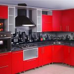 Фото 59: Фартук на кухне в виде фотообоев под городской пейзаж