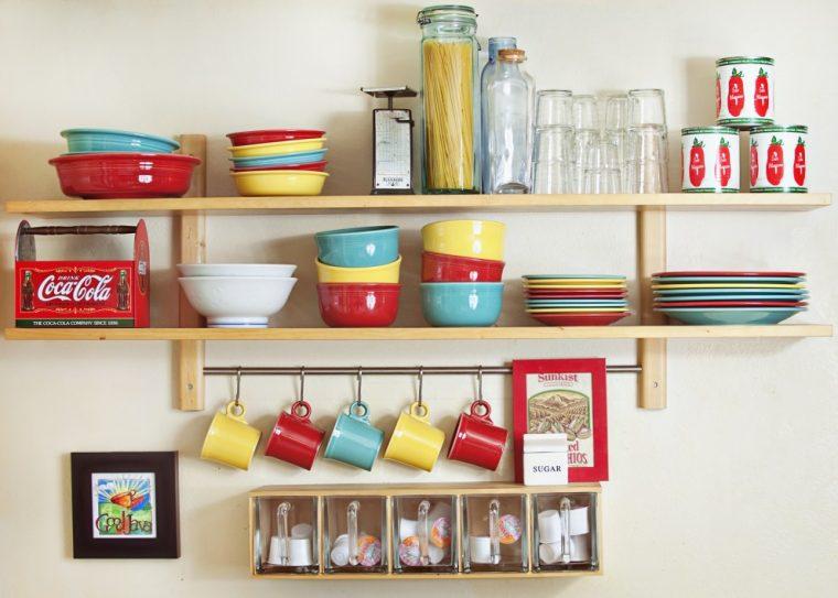 Полки на кухню своими руками (75 фото как сделать кухонные)