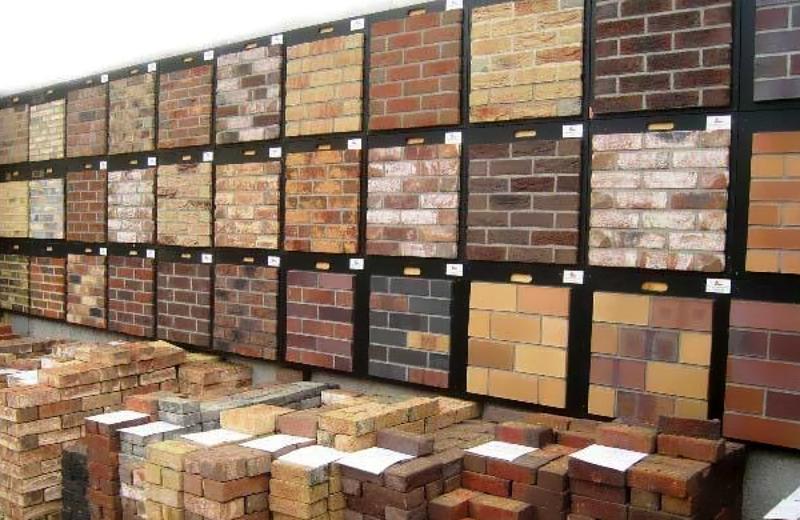 Разнообразие вариантов дизайна клинкерной плитки