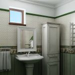 Фото 46: Отделка ванной в стиле прованс