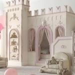 Фото 8: Кровать - замок для детской комнаты для девочек