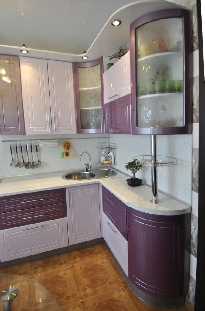маленькая угловая кухня 4