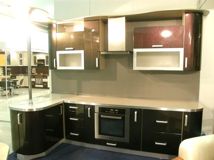 маленькая угловая кухня 5