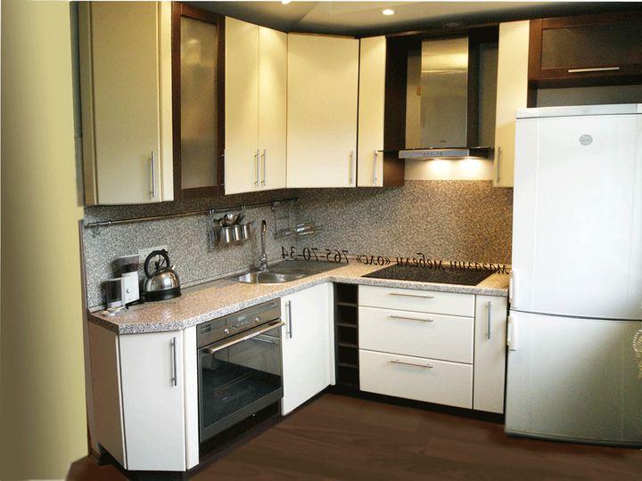 маленькая угловая кухня 6