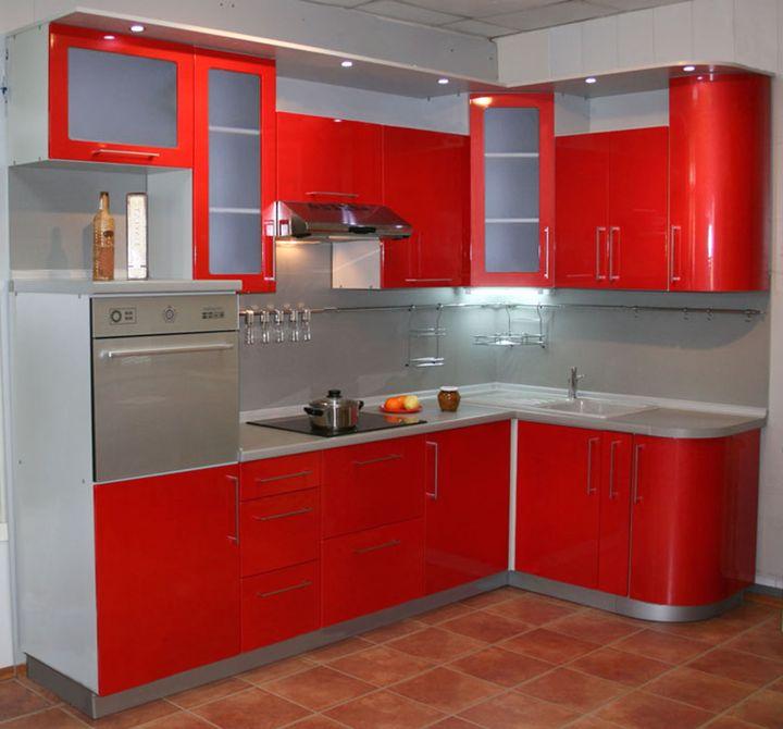 маленькая угловая кухня 7