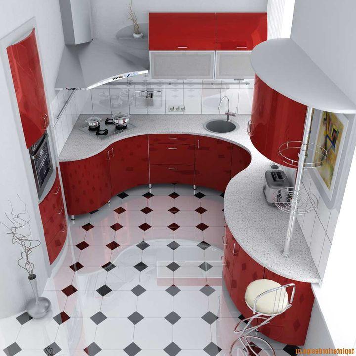 маленькая угловая кухня 8