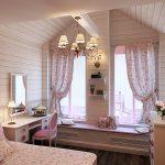 Фото 187: Детская комната в стиле прованс для девочек в доме