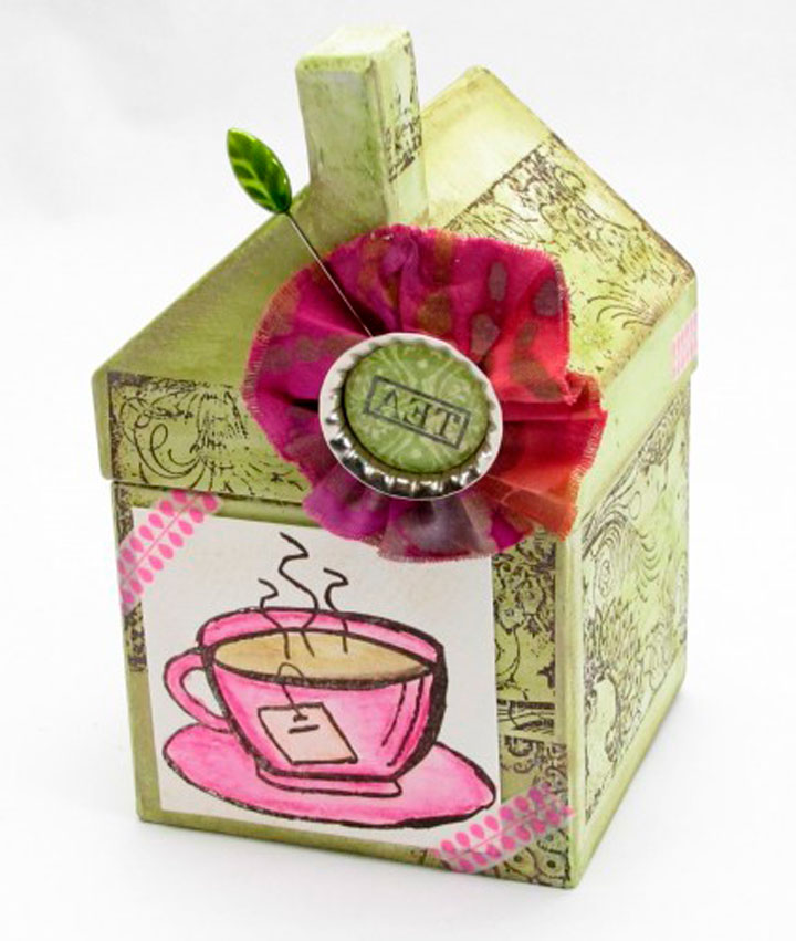Креативная коробка для чая