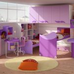 Фото 189: Детская комната в стиле хай-тек с ярким пластиком