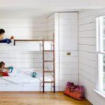 Фото 194: Детская комната в стиле минимализм для двух детей