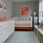 Фото 173: Детская комната в стиле модерн для новрождённой