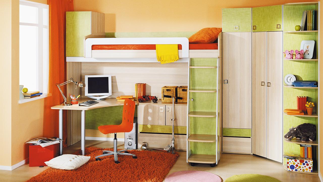 Детский модуль в комнате
