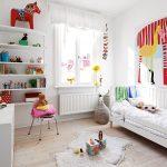 Фото 215: Интерьер детской в скандинавском стиле