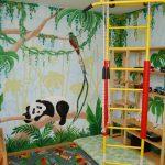 Фото 206: Джунгли уголок в детской
