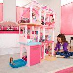 Фото 200: Комната Барби для девочек с кукольным домиком