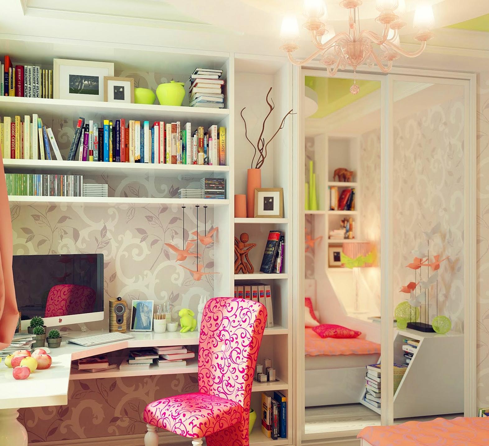 Комната для девочки семи лет