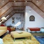 Фото 45: Комната для мальчика на мансарде