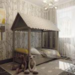 Фото 105: Дизайн детской комнаты в бежевых тонах