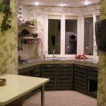 Фото 64: Кухня на лоджии