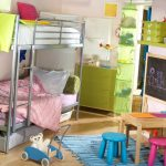 Фото 102: Линолеум в детской комнате для девочек