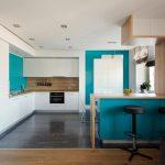 Фото 66: Кухня-студия в стиле минимализм
