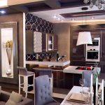 Фото 67: Кухня-студия в стиле модерн