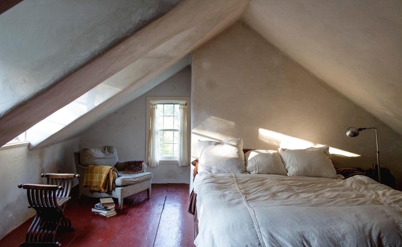 Низкие потолки на мансарде