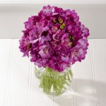 Фото 105: Букет с лиловыми фрезиями