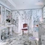 Фото 40: Отделка плиткой под камень в ванной