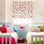 Фото 114: Рулонные шторы в детской для девочек