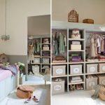 Фото 128: Шкафы для одежды в детской для девочек