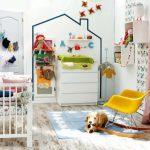 Фото 146: Детская для новорожденных в скандинавском стиле