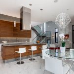 Фото 74: Кухня в квартире студия в стиле хай тек