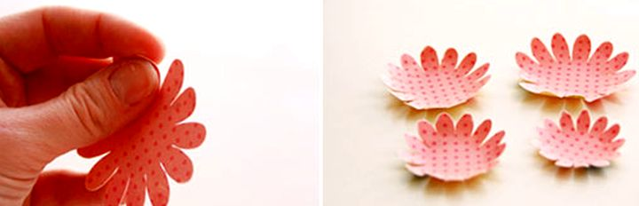 Изготовление цветочков