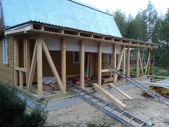 Пристройка к дому своими руками увеличивает комфортность эксплуатации жилища
