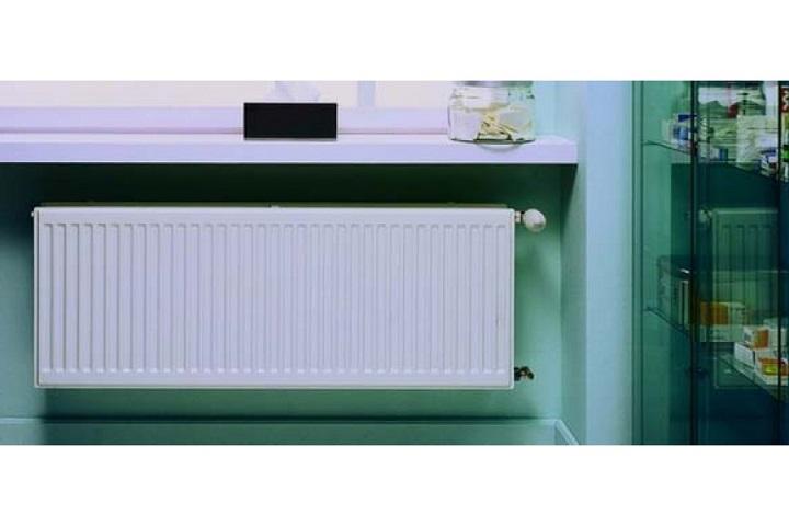 Стальной радиатор серии 20 оснащен гладкими панелями