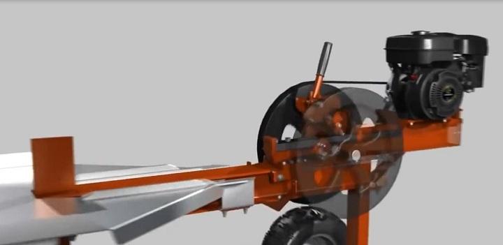 Реечный дровокол своими руками чертежи 166