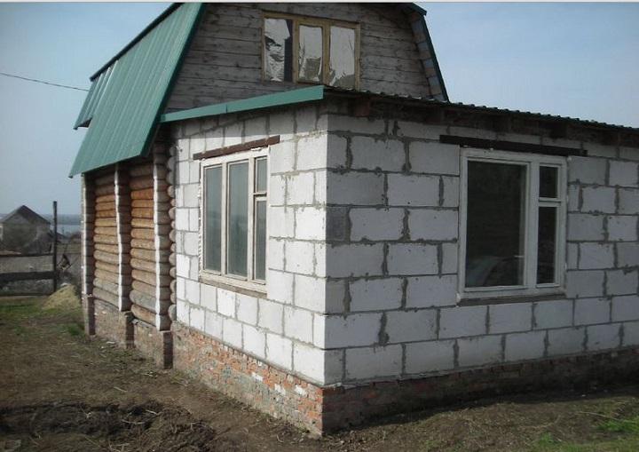 Пеноблоки в качестве стенового материала пристройки к дому своими руками