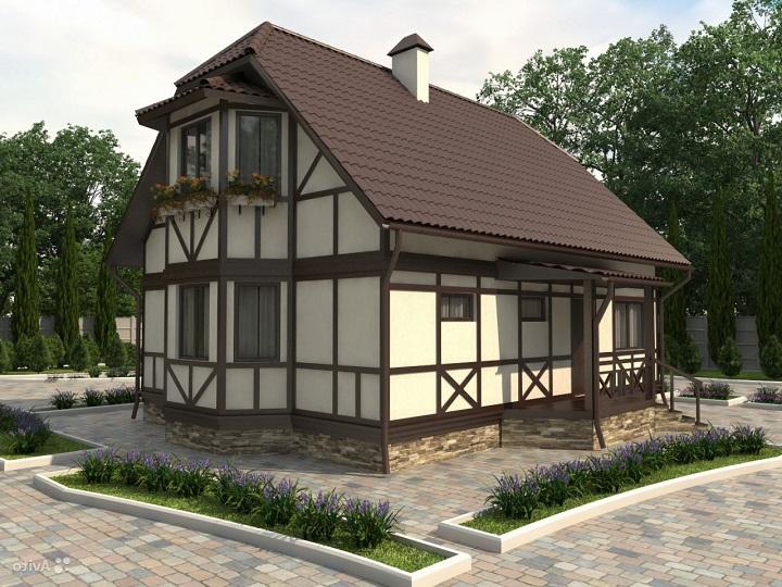 Технология фахверкового деревянного дома под ключ