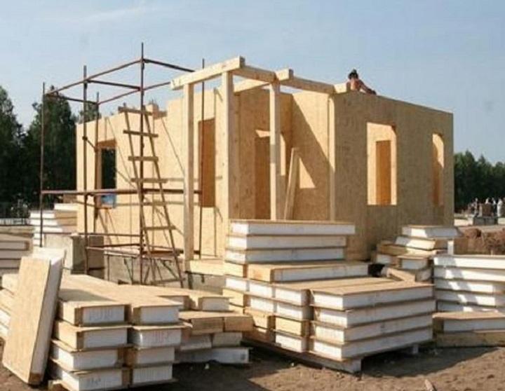 Строительство дома из СИП панелей под ключ
