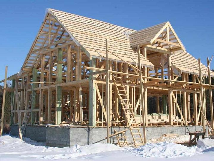 Каркасная технология строительства деревянного дома под ключ