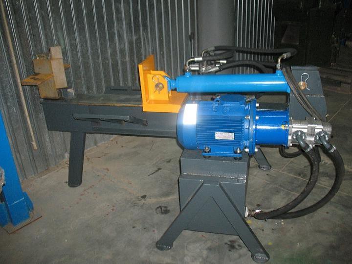 Самодельный гидравлический дровокол